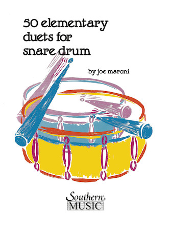 Product Cover for Fifty Elementary Duets For Snare Drum