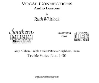 Product Cover for Treble Cd For Vocal Connections