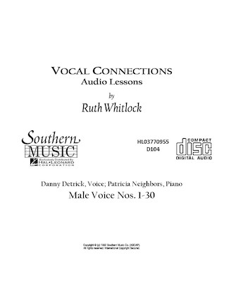 Product Cover for Male Cd For Vocal Connections
