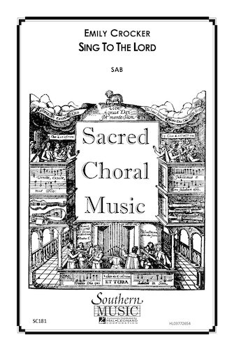 Product Cover for Sing to the Lord