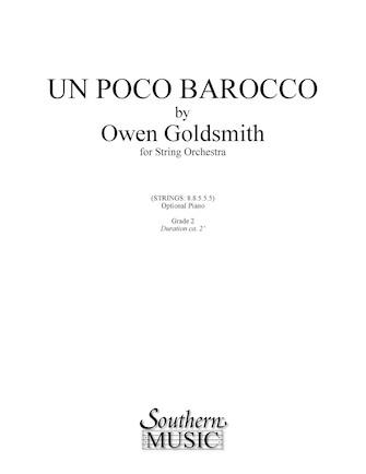 Product Cover for Un Poco Barocco