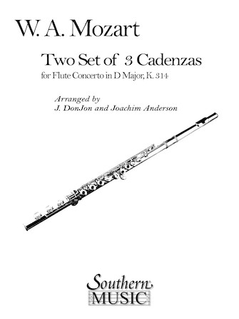 Product Cover for Three Cadenzas in D Major