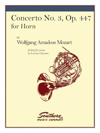 Product Cover for Concerto No. 3, K447