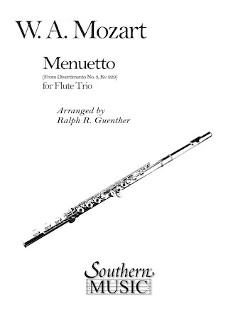 Product Cover for Menuetto (from Divertimento No. 3 K229)