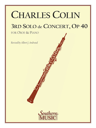 Product Cover for Third Solo de Concert