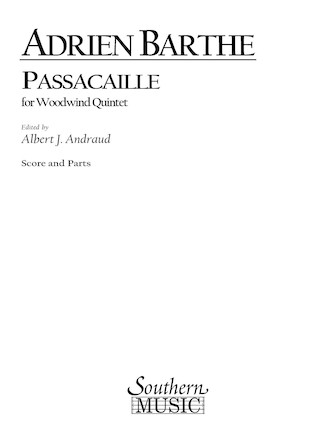 Product Cover for Passacaille