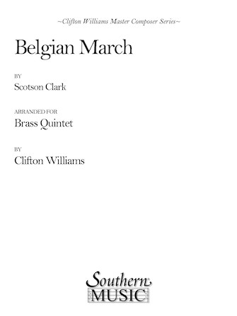 Product Cover for Belgian March