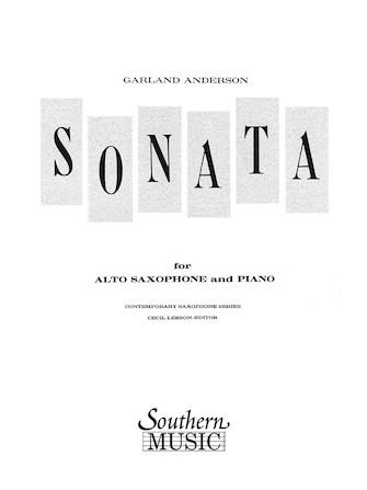 Product Cover for Sonata No. 1