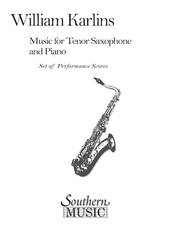 Product Cover for Music for Tenor Saxophone and Piano