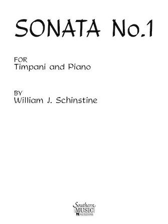 Product Cover for Sonata No. 1 for Timpani