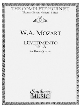 Product Cover for Divertimento No. 8