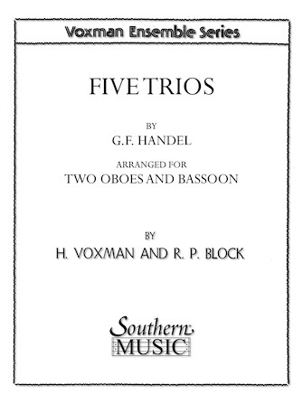 Product Cover for Five Trios