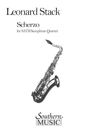 Product Cover for Scherzo for Saxophone Quartet