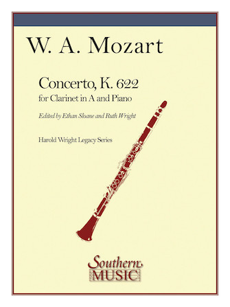 Product Cover for Concerto in A for Clarinet, K. 622