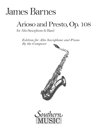 Product Cover for Arioso and Presto, Op. 108