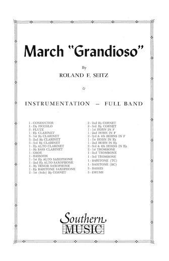 Product Cover for March Grandioso