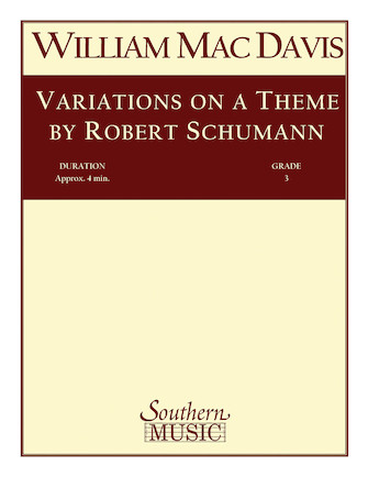 Product Cover for Variations on a Theme by Robert Schumann