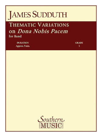 Product Cover for Thematic Variations on Dona Nobis Pacem