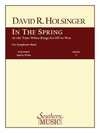 Product Cover for In the Spring at the Time Kings Go Off to War
