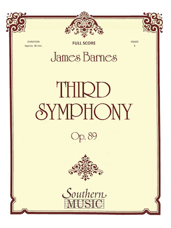 Product Cover for Third Symphony, Op. 89