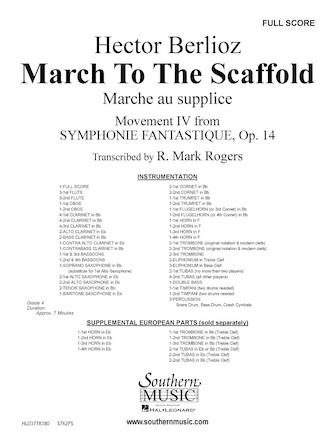 Product Cover for March to the Scaffold