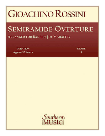 Product Cover for Semiramide Overture