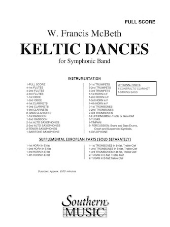 Product Cover for Keltic Dances