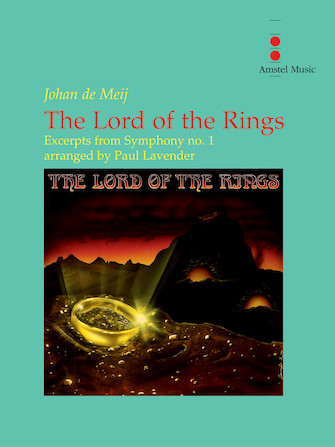 Product Cover for The Lord of the Rings (Excerpts from Symphony No. 1) – Concert Band