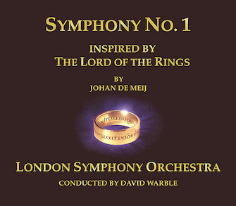 Product Cover for The Lord of the Rings – Symphony No. 1