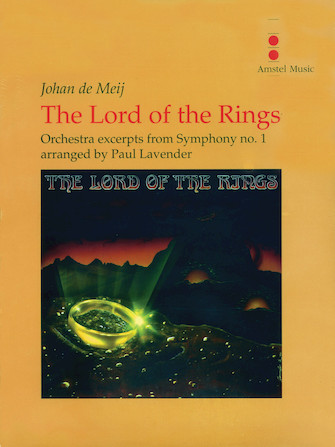Product Cover for The Lord of the Rings (Excerpts from Symphony No. 1) – Orchestra