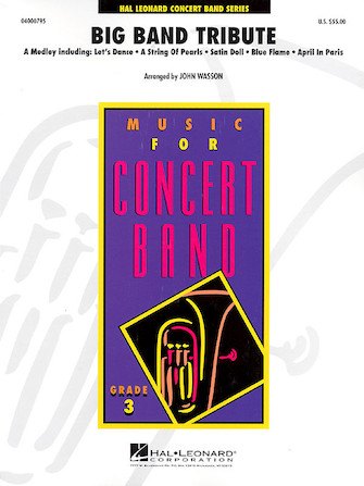 Product Cover for Big Band Tribute