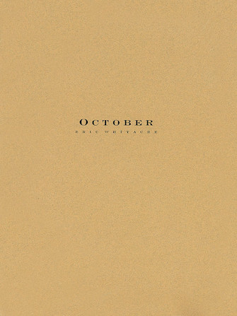 Product Cover for October