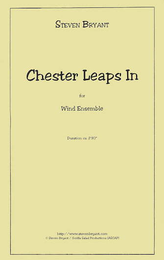Product Cover for Chester Leaps In