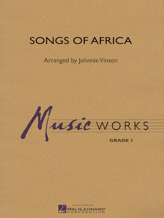 Product Cover for Songs of Africa