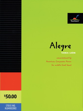 Product Cover for Alegre (Score Only)