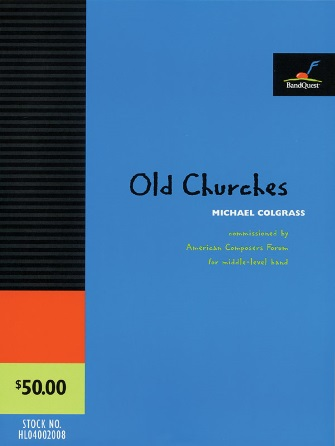 Product Cover for Old Churches (Score Only)