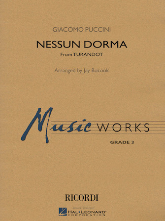 Product Cover for Nessun Dorma (No One Sleeps) (from Turandot)