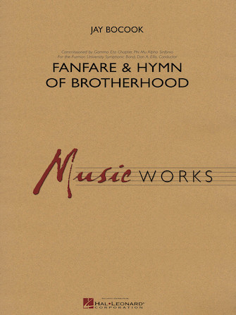 Product Cover for Fanfare and Hymn of Brotherhood