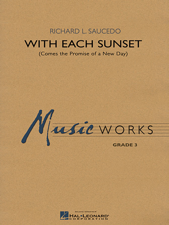 Product Cover for With Each Sunset (Comes the Promise of a New Day)