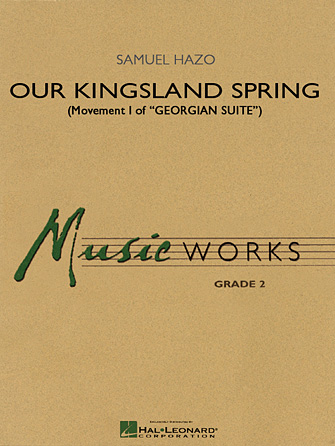 "Product Cover for Our Kingsland Spring (Movement I of ""Georgian Suite"")"
