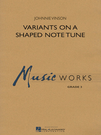 Product Cover for Variants on a Shaped Note Tune
