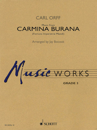 Product Cover for Music from Carmina Burana
