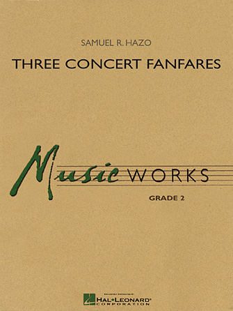 Product Cover for Three Concert Fanfares