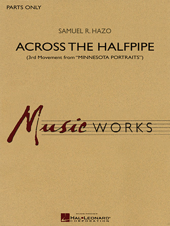 "Product Cover for Across the Halfpipe (3rd Movement from ""Minnesota Portraits"")"