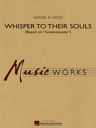 "Product Cover for Whisper to Their Souls (based on ""Greensleeves"")"