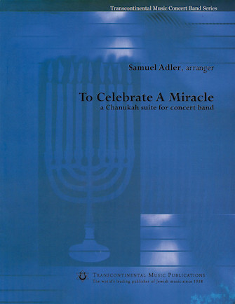 Product Cover for To Celebrate a Miracle