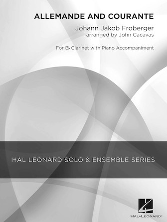 Product Cover for Allemande and Courante