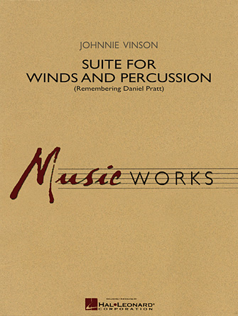 Product Cover for Suite for Winds and Percussion