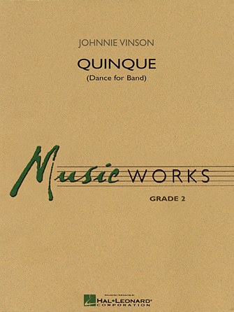 Product Cover for Quinque (Dance for Band)