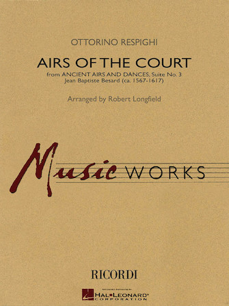 Product Cover for Airs of the Court (from Ancient Airs and Dances, Suite No. 3)